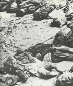 von Tieffliegern getötete Zivilisten