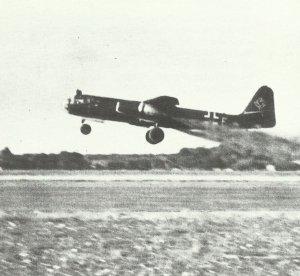 Arador Ar 234B startet mit Startraketen