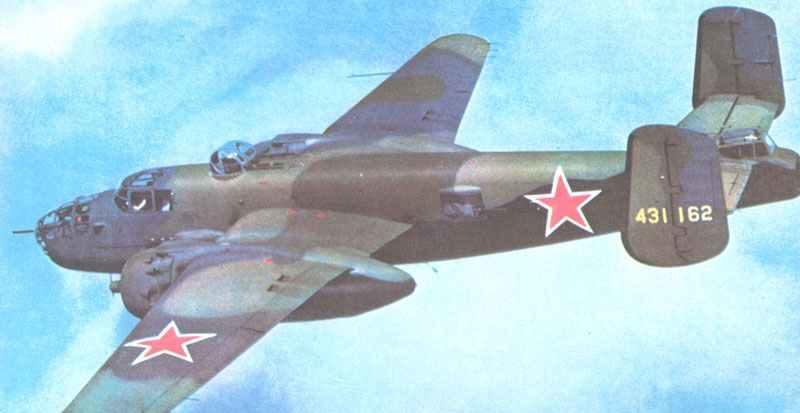 B-25J Mitchell-Bomber
