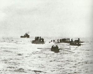 U-8 versenkt