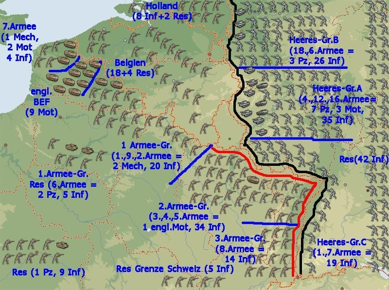 Westfront Mai 1940