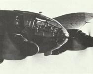 vollsichtverglaste Rumpfbug einer He 111