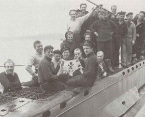 norwegisches U-Boot 'HNMS Ula'