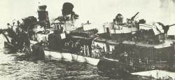 Überreste Zerstörer Hazelwood