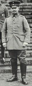 Hoffmann, der Stellverteter von Generalstabschef Ludendorff