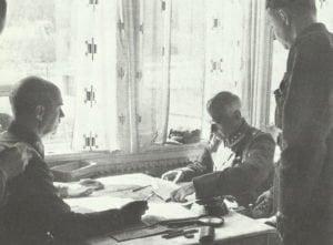 norwegischer Brigadekommandeur kapituliert