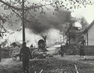 zerstörtes Dorf in Franken