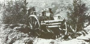 7,7-cm Feldgeschütz des deutschen Heeres