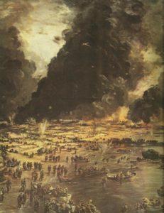 Einschiffung des britischen Expeditionskorps in Dünkirchen