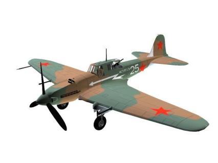 3D-Modell Iljuschin Il-2M3 Stormowik.