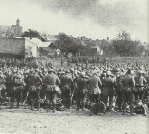 Rast deutscher Truppen