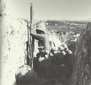 Britischer Schützengraben Gallipoli