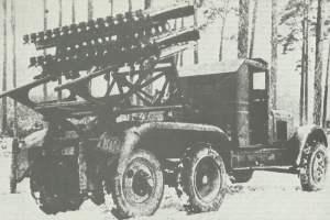 BM-8-48 auf ZIS-LKW