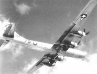 B-29 mit dem AN/APQ-13 Eagle-Bodensignatur-Radar