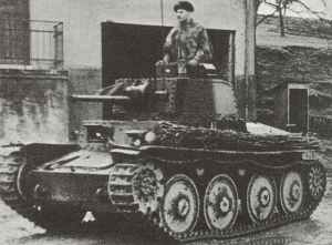 Panzer 38 (t) Ausf B oder C