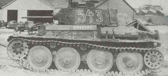 Panzer 38 (t) Ausf.E