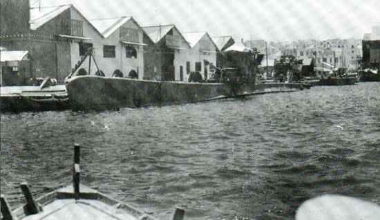 italienische U-Boot Perla