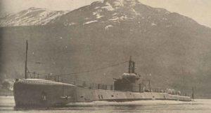 englische Unterseeboot Severn