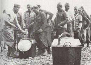 Italienische Kriegsgefangene in Äthopien