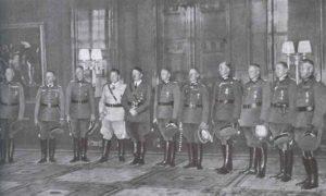 Führer mit den neu erannten Marschällen