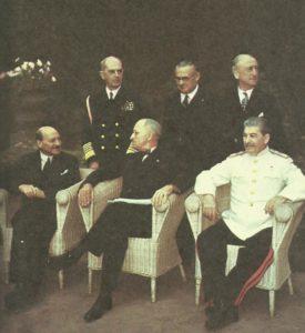 Attlee, Truman, Stalin in Potsdam