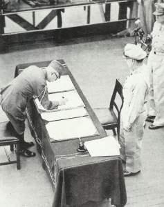 Kapitulation Japans