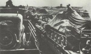 Verlegung einer russischen Panzerbrigade