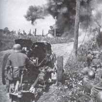 Einsatz der 3.7cm PAK 36 zu Beginn des Unternehmens Barbarossa