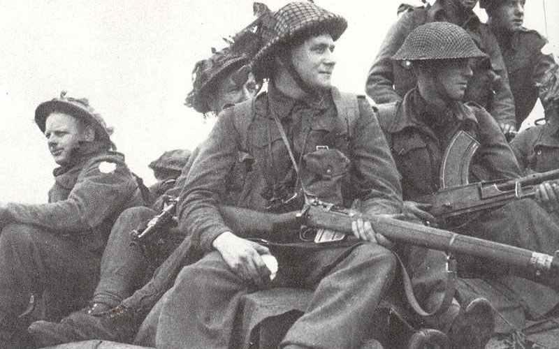 Britische Armee in Westeuropa 1944-45