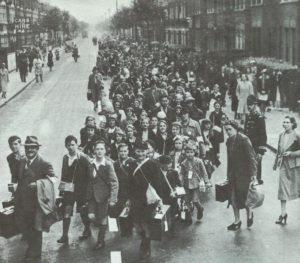Evakuierung aus London