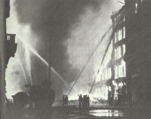 Brände im Londoner Stadteil Eastcheap