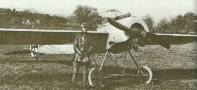 Vermutlich eine Fokker E.II.