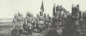 Kaiser und Kronprinz Truppenbesichtigung