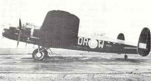 Lancaster Bomber Mk II der 61.Staffel