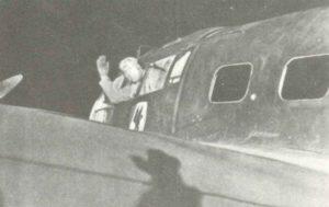 He111-Bomber des KG30 Adler