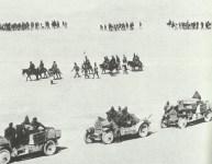 Italienische Truppen bei Sollum