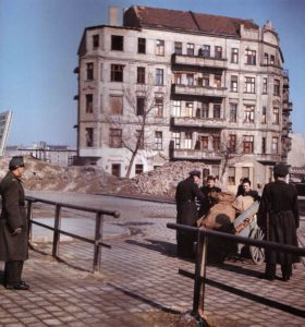 Russischer Kontrollpunkt Berlin