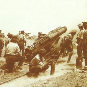 britisches schweres 60-Pfünder Feldgeschütz