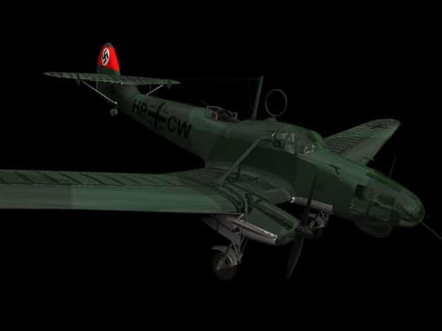 Focke Wulf Fw 58B Weihe