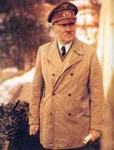 Hitler im Frühjahr 1944.