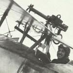 Lewis-MG auf Nieuport