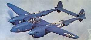 P-38 Lightning F-5E