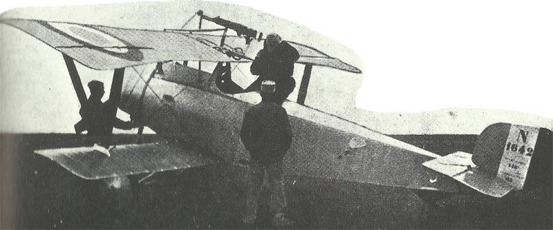 Nieuport XI 'biplane de chasse' (Zerstörer).