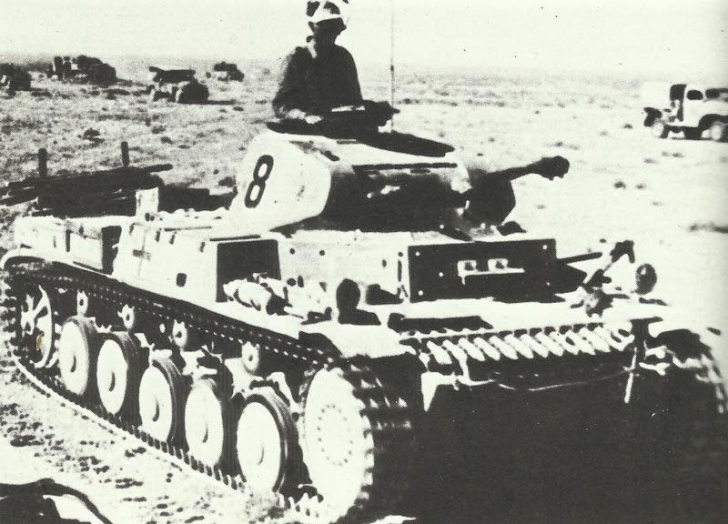 PzKpfw II Afrikakorps