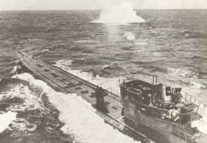 U-Boot unter Luftangrriff