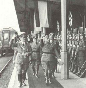 Hitler und der spanische Dikator