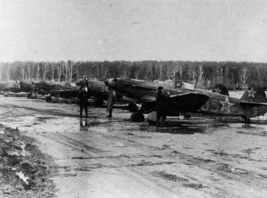 Jak-9 Jäger des französischen Freiwilligen-Regiments Normandie-Niemen