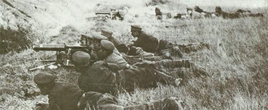 Bulgarische MG-Schützen