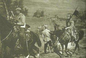 deutsche Kavallerie in Serbien