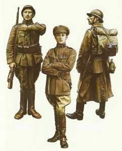 Belgische Armee 1916-1918